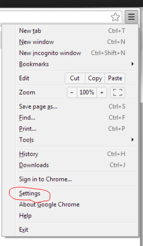Chrome settings – ClickSafety Help Center